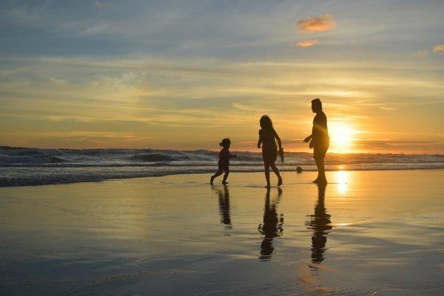 συναισθηματική νοημοσύνη οικογένεια στη θάλασσα