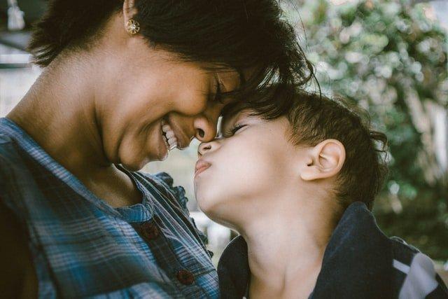 Όρια παιδιών μαμά και παιδί